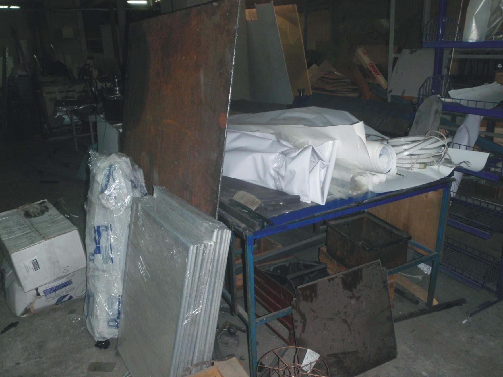 Изготовление вывесок световых коробов цех