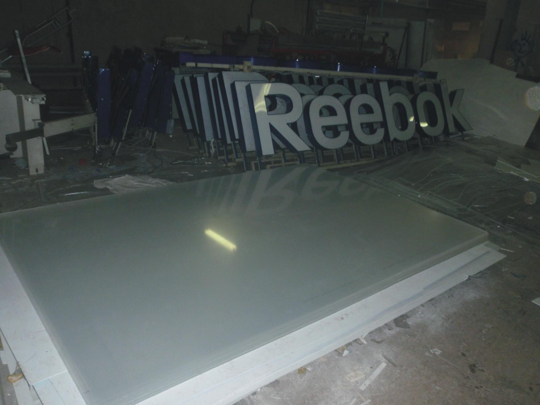 Производство световой вывески